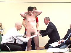 Anus probed by the demanding club board members