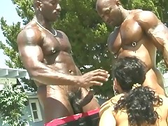 Hot black gay sex