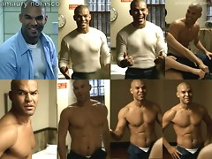 Hunky actor Amaury Nolasco showing off his hot sexy physique