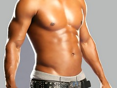 Omarion showing off his buffed up and very ripped hot sexy body