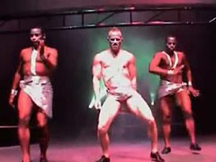 These real gay bfs and sexy funny dance shows