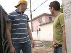 Gay sex outdoors video