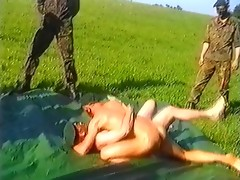 Soldiers Exercising Naked videos