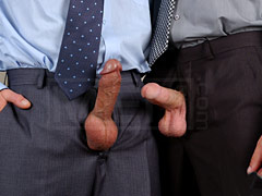 Subordinate seduced her boss and fucked him