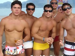 Hot pictures and videos of amateur guys by the Sea