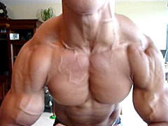 Amateur muscle men
