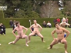 Amateur Naked Rugby Team videos