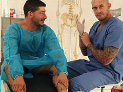 muscle tattooed guys