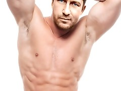 The hot chiseled bod of the sexy Spartan Gerard Butler