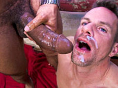 College boy fucked by a huge black cock